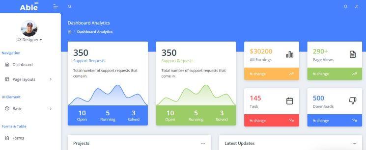 Top-Admin-templates