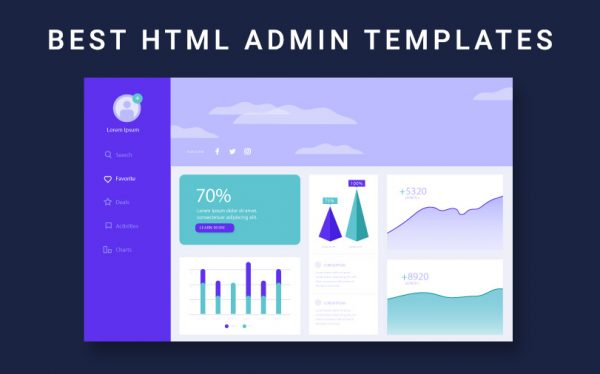 23 Best HTML Admin Templates for your next project