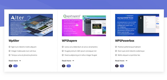 WPHelpere WordPress Knowledge base