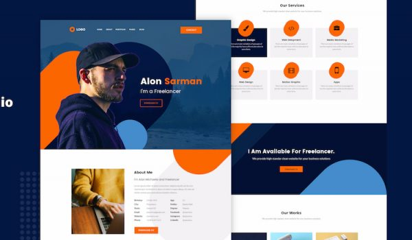 26 Most loved Free PSD web templates for Startups